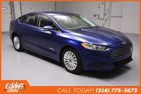 2016 Ford Fusion Hybrid for sale in Augusta, KS
