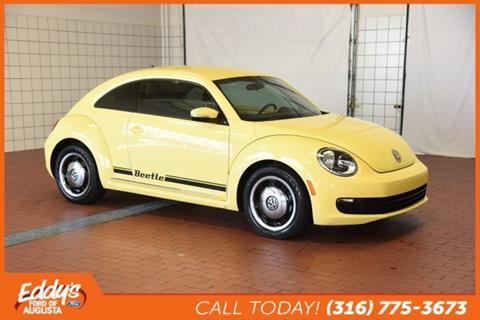 2013 Volkswagen Beetle for sale in Augusta KS