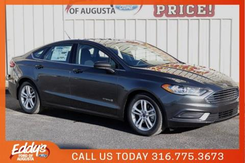 2018 Ford Fusion Hybrid for sale in Augusta, KS