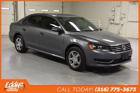 2015 Volkswagen Passat for sale in Augusta, KS