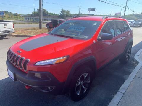 2017 Jeep Cherokee for sale at 222 Newbury Motors in Peabody MA