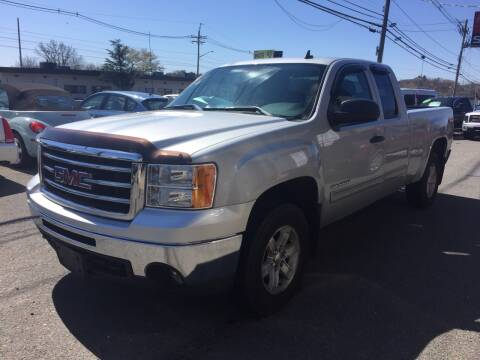 2013 GMC Sierra 1500 for sale at 222 Newbury Motors in Peabody MA