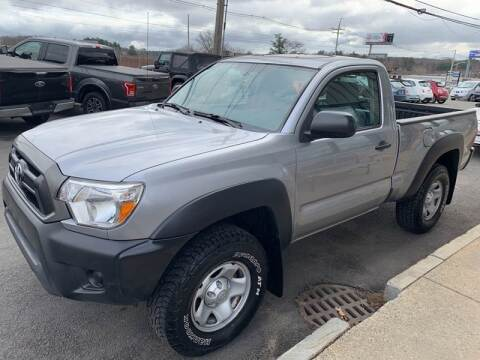 2014 Toyota Tacoma for sale at 222 Newbury Motors in Peabody MA