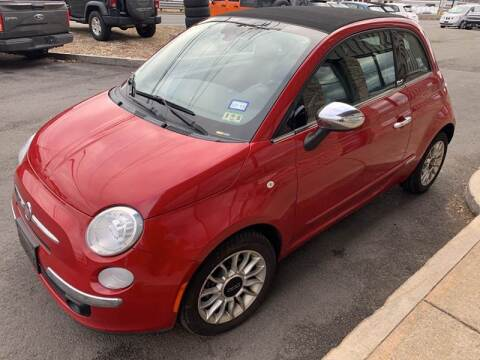 2012 FIAT 500c Lounge for sale at 222 Newbury Motors in Peabody MA