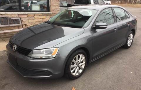 2012 Volkswagen Jetta SE PZEV for sale at 222 Newbury Motors in Peabody MA