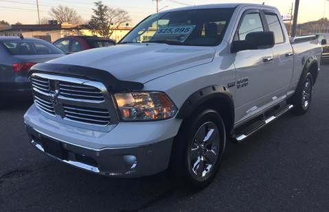 2017 RAM Ram Pickup 1500 Big Horn for sale at 222 Newbury Motors in Peabody MA