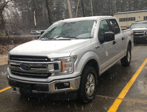 2019 Ford F-150 for sale at 222 Newbury Motors in Peabody MA