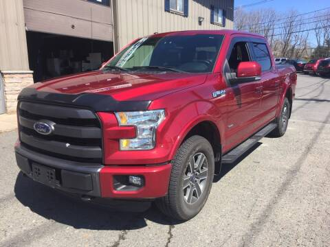 2015 Ford F-150 for sale at 222 Newbury Motors in Peabody MA