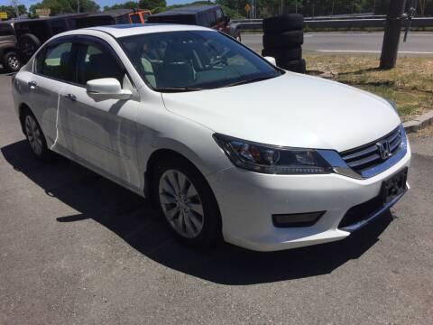 2014 Honda Accord for sale at 222 Newbury Motors in Peabody MA
