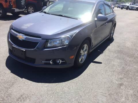 2014 Chevrolet Cruze for sale at 222 Newbury Motors in Peabody MA