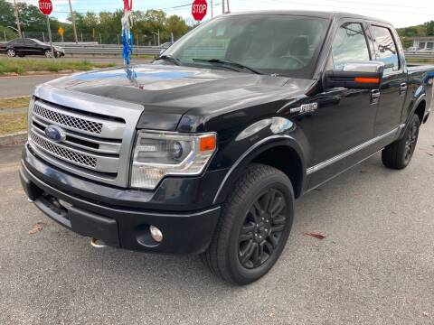 2014 Ford F-150 for sale at 222 Newbury Motors in Peabody MA