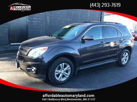 2013 Chevrolet Equinox for sale in Westminster, MD