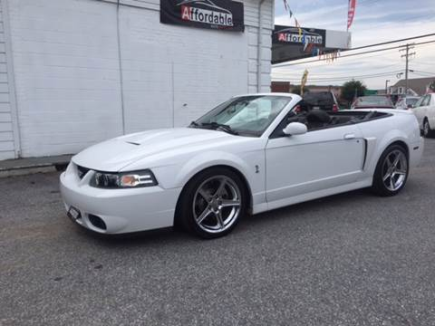 2004 Ford Mustang SVT Cobra for sale in Westminster, MD