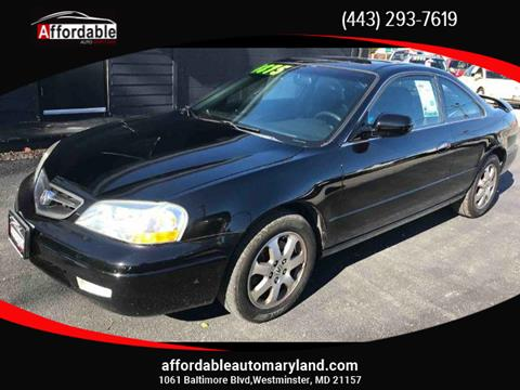 2001 Acura CL for sale in Westminster, MD