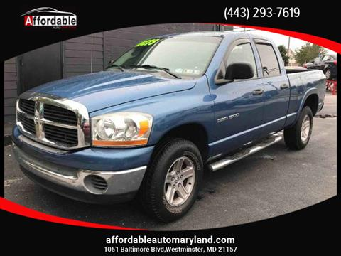 2006 Dodge Ram Pickup 1500 for sale in Westminster, MD