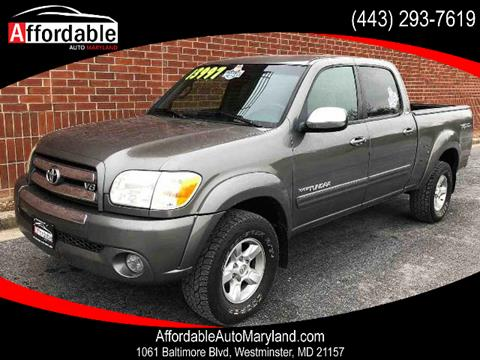 2006 Toyota Tundra for sale in Westminster, MD