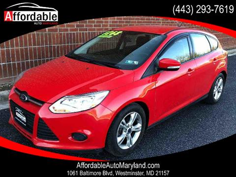 2014 Ford Focus for sale in Westminster, MD