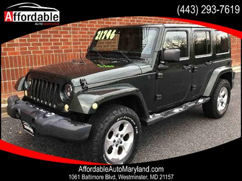 2011 Jeep Wrangler Unlimited for sale in Westminster, MD
