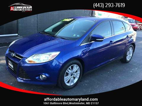 2012 Ford Focus for sale in Westminster, MD