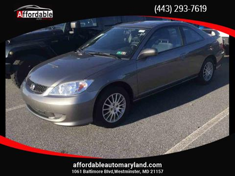 2005 Honda Civic for sale in Westminster, MD