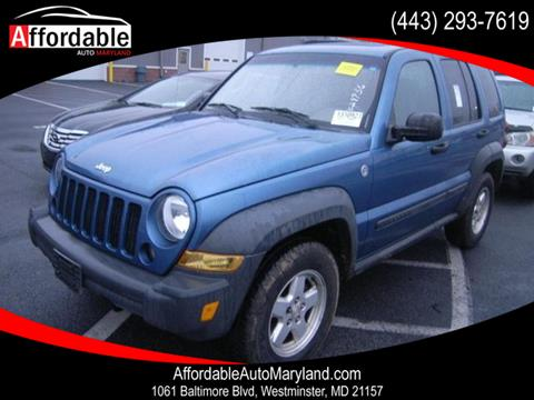 2006 Jeep Liberty for sale in Westminster, MD