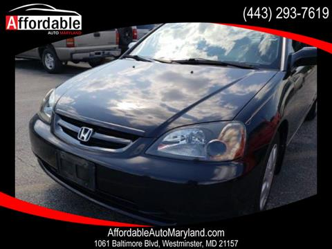 2001 Honda Civic for sale in Westminster, MD
