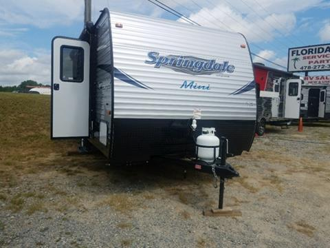 2018 Keystone Springdale Summerland Mini for sale in Dublin, GA