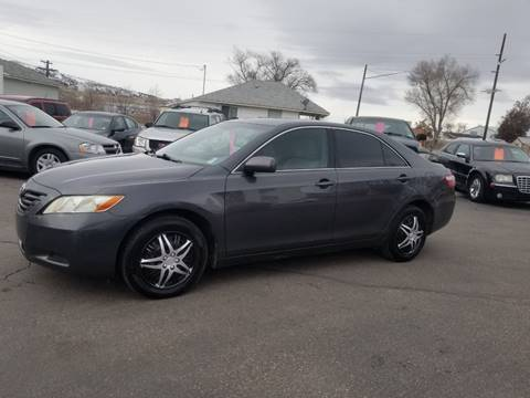 2008 Toyota Camry for sale at BRAMBILA MOTORS in Pocatello ID