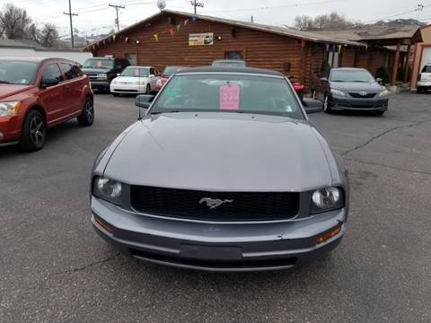 2006 Ford Mustang for sale at BRAMBILA MOTORS in Pocatello ID