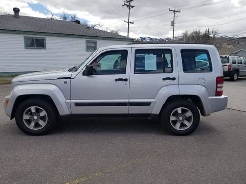 2008 Jeep Liberty for sale at BRAMBILA MOTORS in Pocatello ID