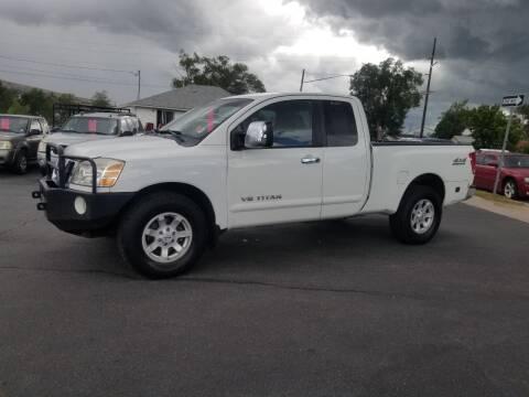 2007 Nissan Titan for sale at BRAMBILA MOTORS in Pocatello ID