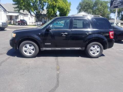 2008 Ford Escape for sale at BRAMBILA MOTORS in Pocatello ID