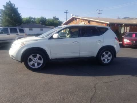 2005 Nissan Murano for sale at BRAMBILA MOTORS in Pocatello ID