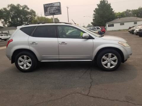 2006 Nissan Murano for sale at BRAMBILA MOTORS in Pocatello ID