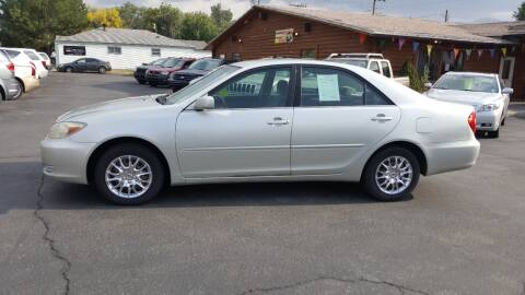 2003 Toyota Camry for sale at BRAMBILA MOTORS in Pocatello ID
