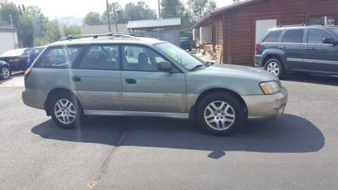 2003 Subaru Outback for sale at BRAMBILA MOTORS in Pocatello ID