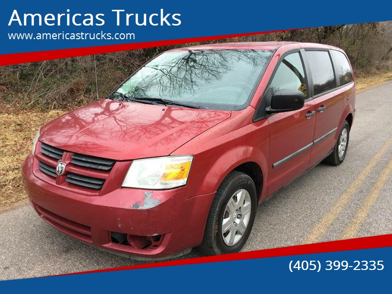 2008 Dodge Grand Caravan Se In Jones Ok Americas Trucks