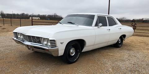 1967 Chevrolet Bel Air For Sale In Oklahoma City Ok