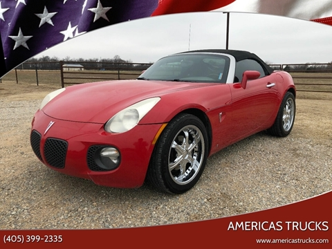 2008 Pontiac Solstice for sale in Jones, OK