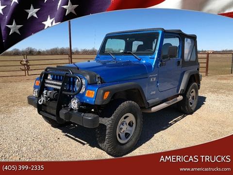 2002 Jeep Wrangler for sale in Oklahoma City, OK