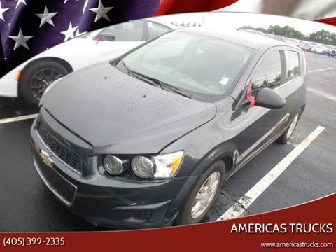 2016 Chevrolet Sonic for sale in Jones, OK
