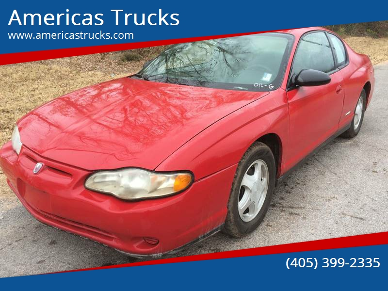 2005 Chevrolet Monte Carlo For Sale At Americas Trucks In Jones OK