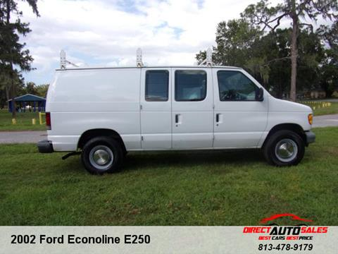 2002 Ford E-Series Cargo for sale in Plant City, FL