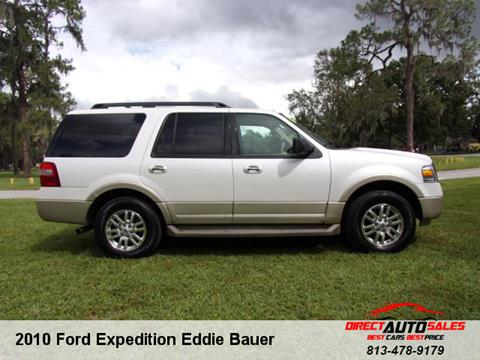 2010 Ford Expedition for sale in Plant City, FL