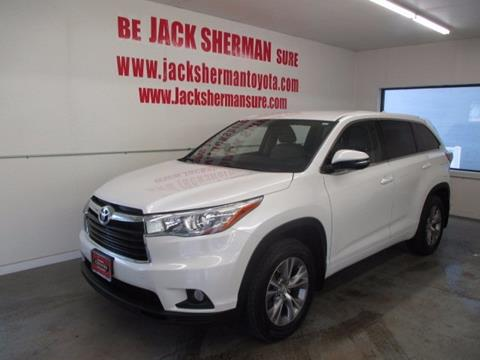 2015 Toyota Highlander for sale in Binghamton, NY