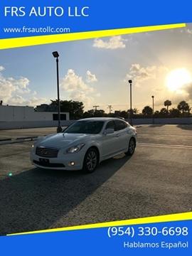 Infiniti M37 For Sale >> Infiniti M37 For Sale In West Palm Beach Fl Frs Auto Llc