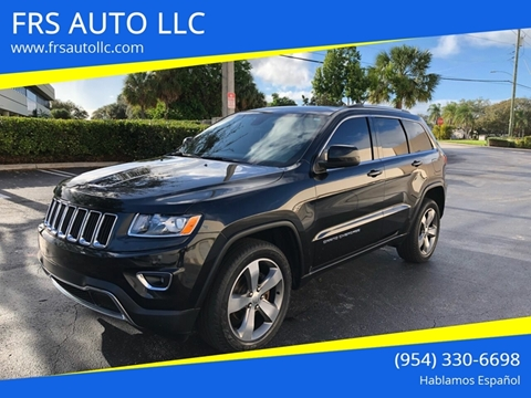 2015 Jeep Grand Cherokee Laredo for sale at FRS AUTO LLC in West Palm Beach FL