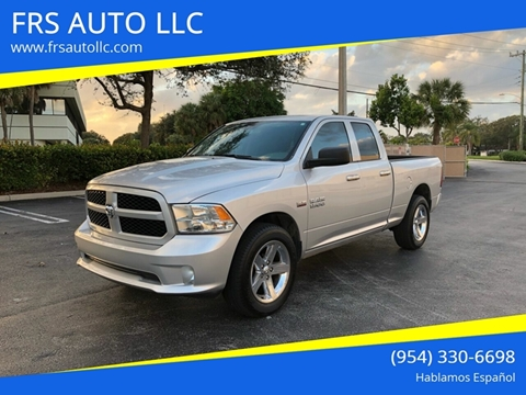 2016 RAM Ram Pickup 1500 Express for sale at FRS AUTO LLC in West Palm Beach FL