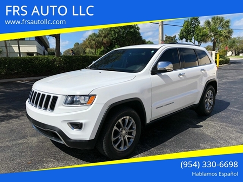 2016 Jeep Grand Cherokee Limited for sale at FRS AUTO LLC in West Palm Beach FL