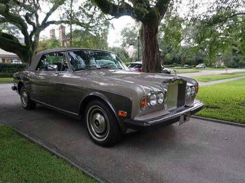 1983 Rolls-Royce Corniche for sale in New Orleans, LA
